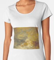 A Disaster at Sea by J.M.W. Turner Women's Premium T-Shirt