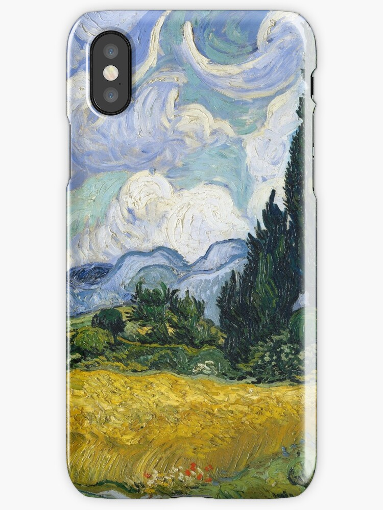 Vincent Van Gogh - Wheat Field with Cypresses by NewNomads
