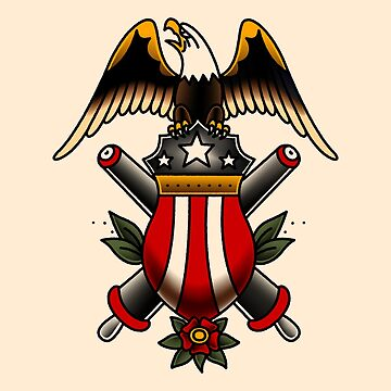 American Traditional Artillery Icon by salty-dog