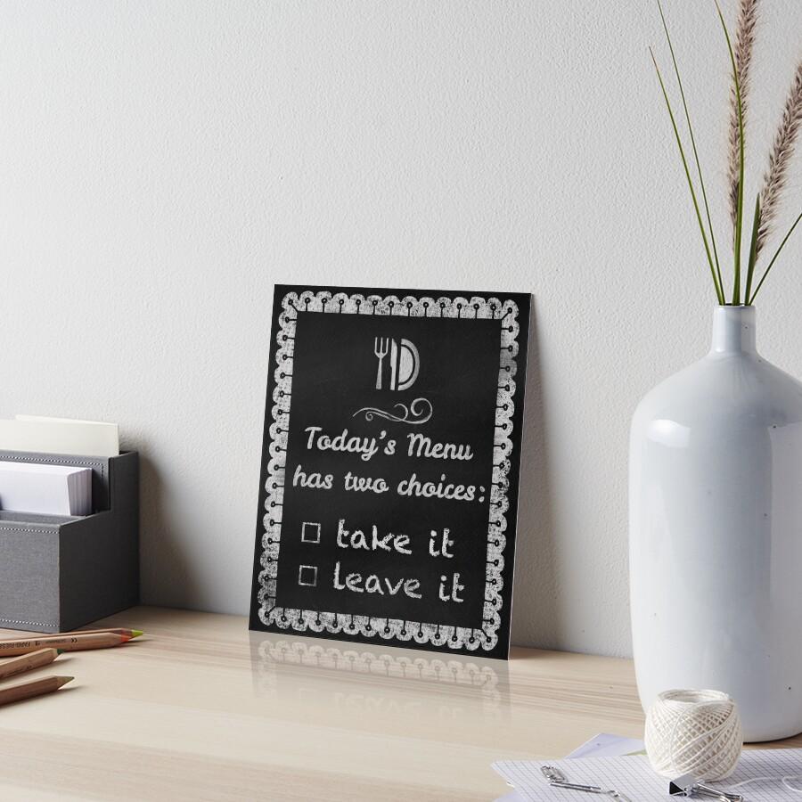 Fine Menu Chalkboard For Kitchen Crest - Kitchen Cabinets | Ideas ...