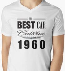 CADILLAC Men's V-Neck T-Shirt