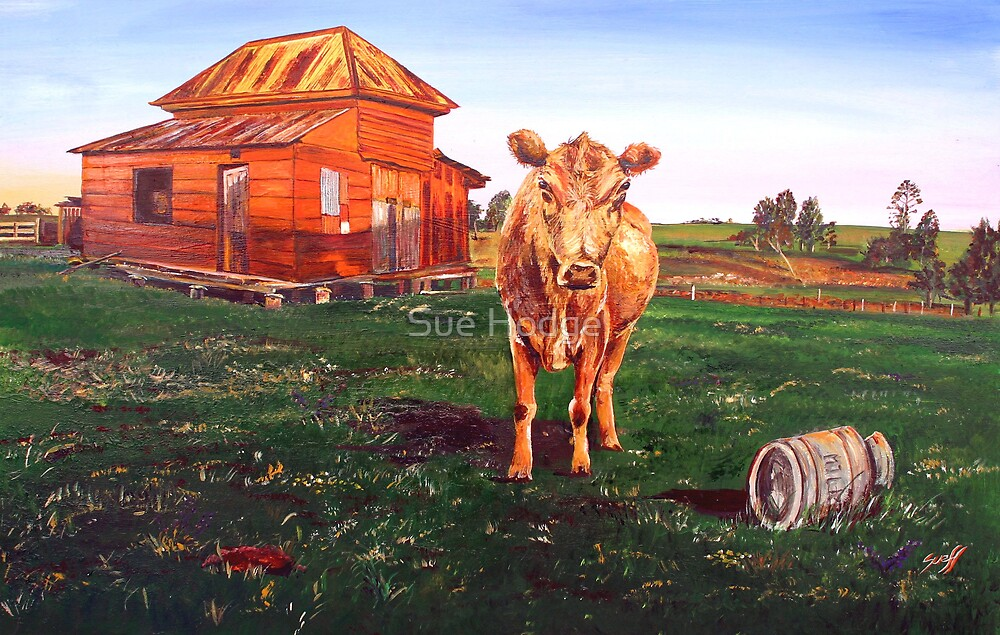 Milking Time by Sue Hodge