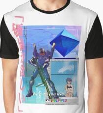Camiseta gráfica REI AYANAMI VAPORWAVE