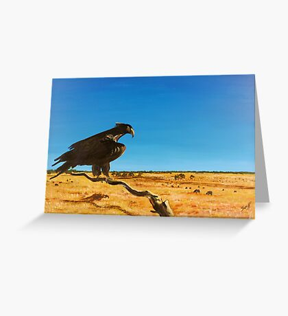 Eagle Watch Greeting Card