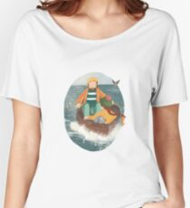 Adventure On The Sea Women's Relaxed Fit T-Shirt