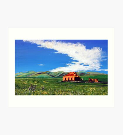 Burra Cottage Art Print