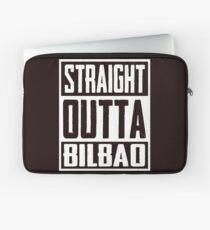 Straight Outta Bilbao Laptop Sleeve