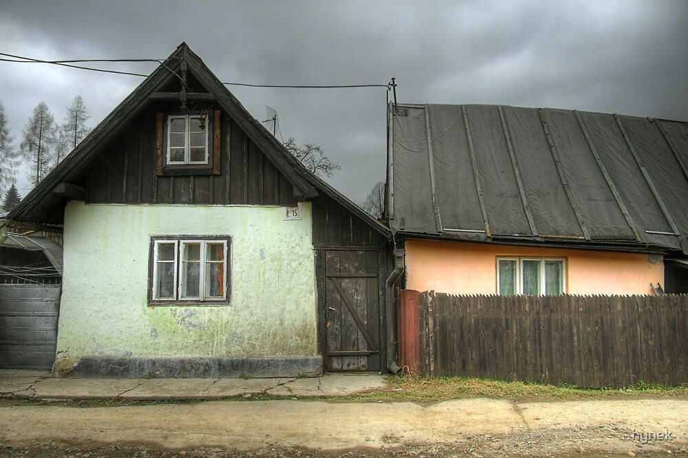 Shabby Houses by hynek