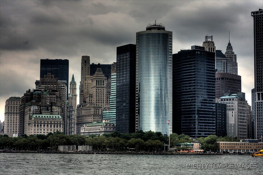 City Skyline by MIGHTY TEMPLE IMAGES