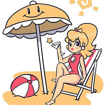 Summer Peach by jaimeugarte