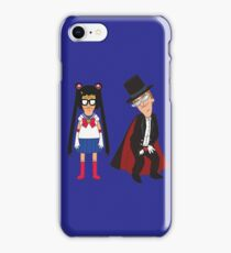 Tina Moon and Buttexdo Mask iPhone Case/Skin