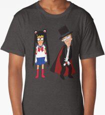 Tina Moon and Buttexdo Mask Long T-Shirt
