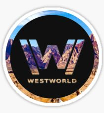 WEST WORLD Sticker