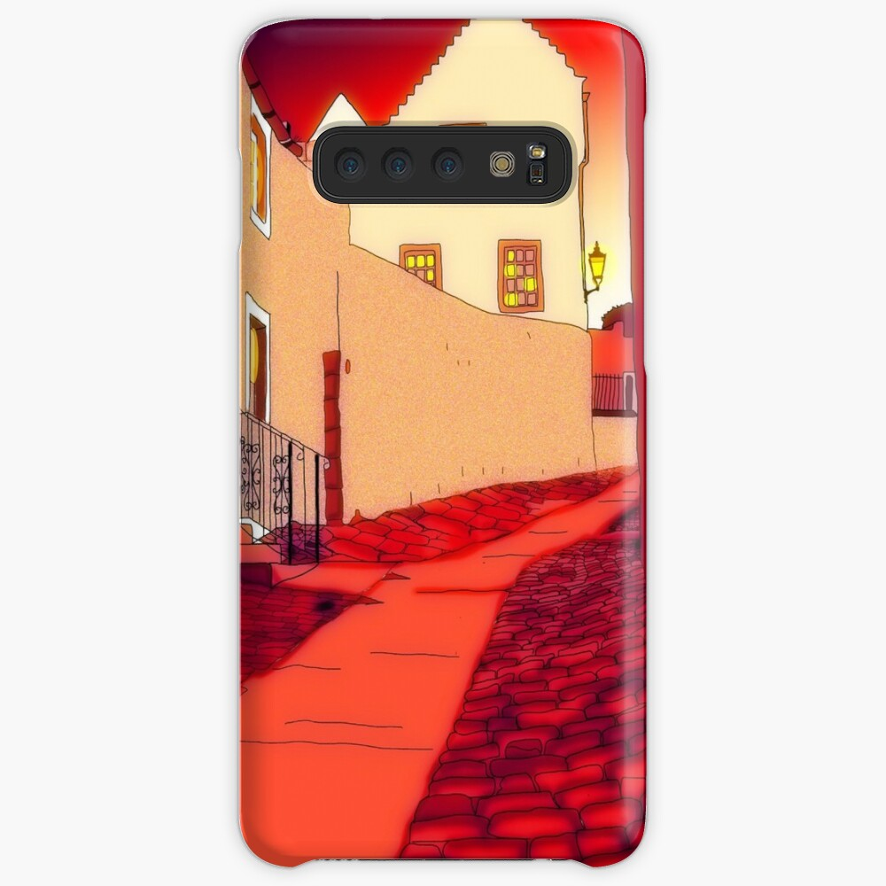 Dysart: Scottish Town digital drawing Cases & Skins for Samsung Galaxy