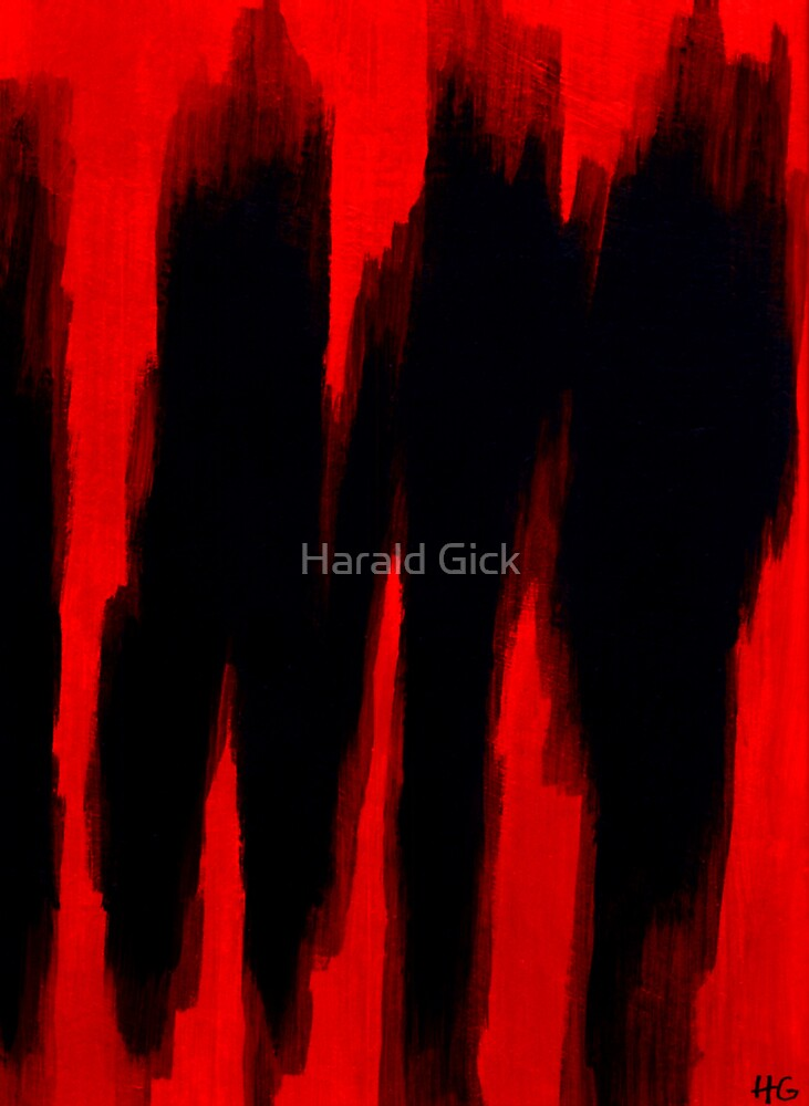 Red and black by Harald Gick