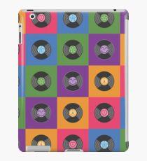 Multicolor Vinyl Records iPad Case/Skin