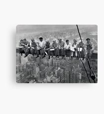 Lunch On A Skyscraper  Canvas Print