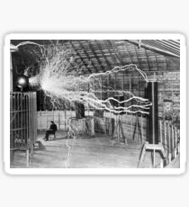 Nikola Tesla Electricity  Sticker