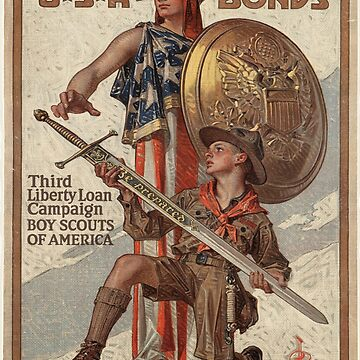 Vintage poster - USA Bonds by mosfunky