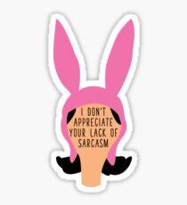 Louise Sarcasm Sticker