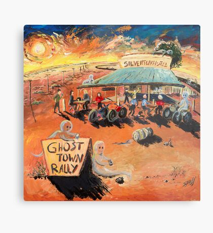 The Ghost Town Rally Metal Print