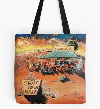 The Ghost Town Rally Tote Bag