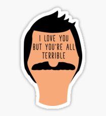 Bob Terrible Sticker