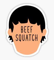 Beef Squatch Gene  Sticker