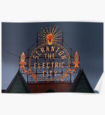 Scranton Electric City Poster