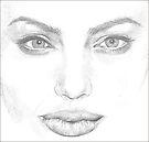 Angelina Jolie by Kate Eller