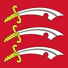 Essex Flag Phone Cases by mpodger