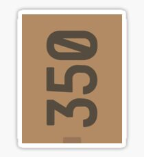 Yeezy Boost 350 Box Illustration  Sticker