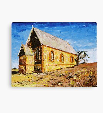 Silverton Church Canvas Print