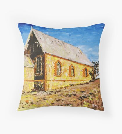 Silverton Church Throw Pillow