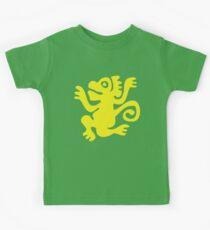 Grüne Affen Kinder T-Shirt