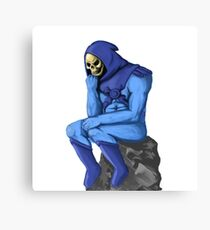 The Skeletor Canvas Print