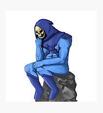 The Skeletor Photographic Print
