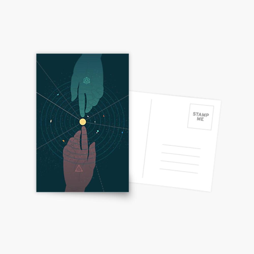 Parallel Universe Postcard