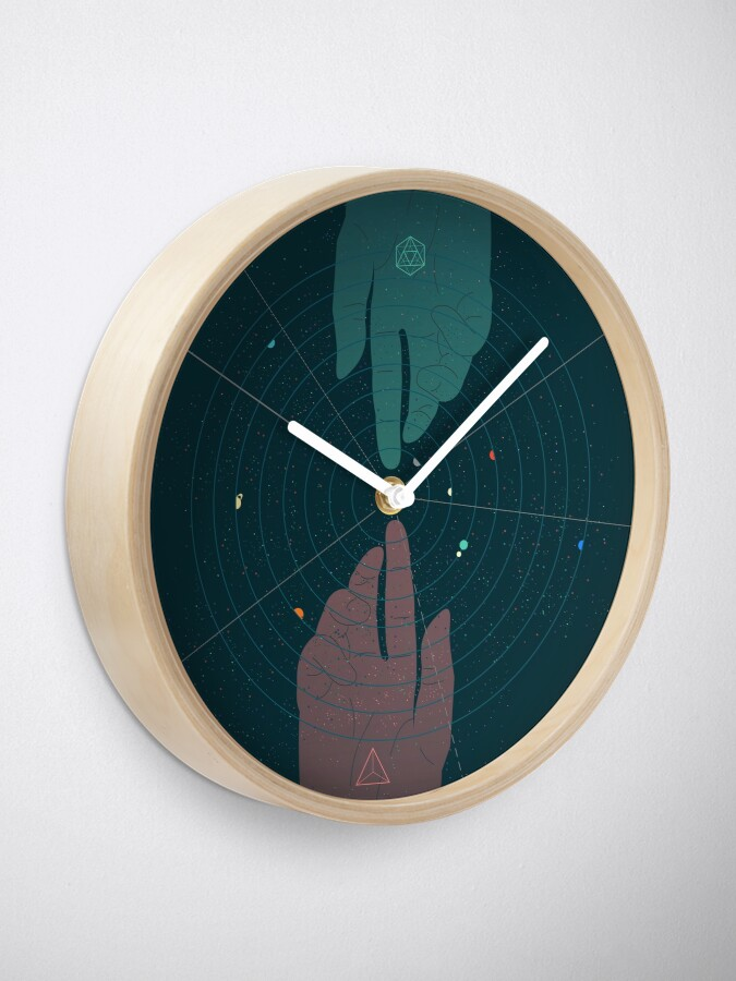 Alternate view of Parallel Universe Clock