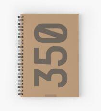 Yeezy Boost 350 Box Illustration  Spiral Notebook
