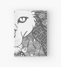 Lion - Doodle Art Hardcover Journal