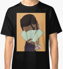 Travis Scott Graphic Art (Orange) Classic T-Shirt