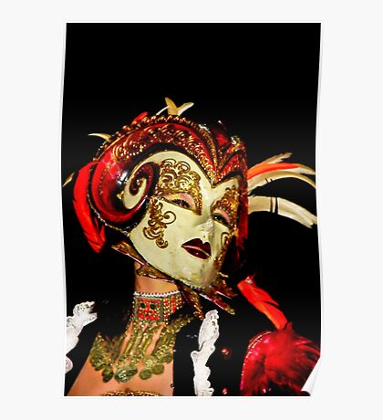 Lady Carnivale Poster