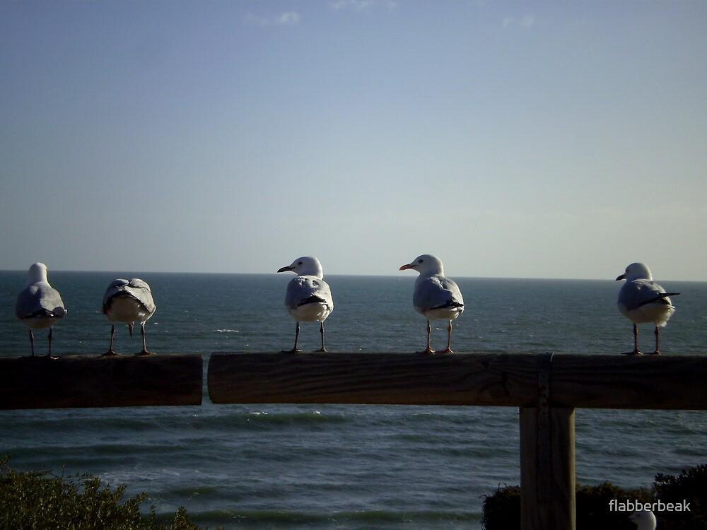 Birds on a Perch by flabberbeak