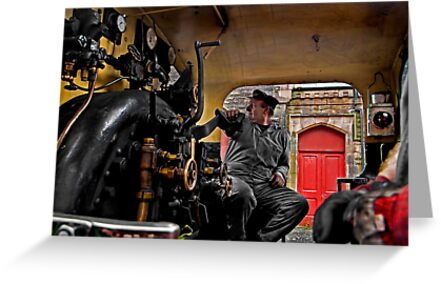 Engine Driver by Richard Gregory