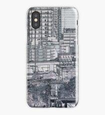 Construction Paper City - view 2 iPhone Case