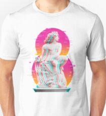 Vapor Wave Statue Design Unisex T-Shirt