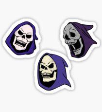 3 Pack Combo: Skeletor  Sticker