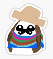 Solo Mexican Porg Sticker