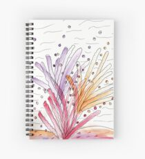 Watercolor Coral Reef Spiral Notebook
